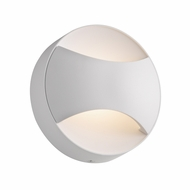 Sonneman 2362.98 Toma Contemporary Textured White Finish 4.75 Wide LED Light Sconce