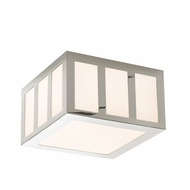 Sonneman 2527.35 Capital Modern Polished Nickel Finish 5.5  Tall LED Overhead Lighting