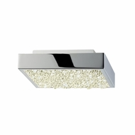 Sonneman 2568.01 Dazzle Contemporary Polished Chrome LED Ceiling Light Fixture