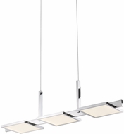 Sonneman 2573.01 Panels Contemporary Polished Chrome LED Kitchen Island Light