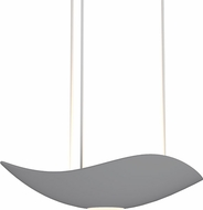 Sonneman 2666.18 Infinity Contemporary Dove Grey LED Hanging Pendant Light