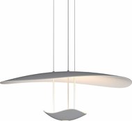 Sonneman 2668.18 Infinity Reflections Contemporary Dove Grey LED Drop Ceiling Lighting