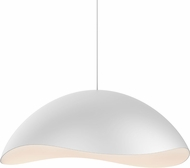 Sonneman 2673.03W Waveforms Contemporary Satin White LED Drop Lighting Fixture