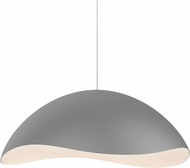 Sonneman 2673.18W Waveforms Modern Dove Grey LED Pendant Lighting