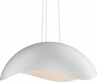 Sonneman 2674.03W Waveforms Modern Satin White LED Hanging Lamp