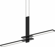 Sonneman 2688.25 Planes Contemporary Satin Black LED Kitchen Island Lighting