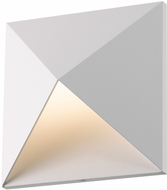 Sonneman 2714.98.WL Prism Contemporary Textured White LED Wall Light Sconce