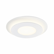 Sonneman 2729.98 Offset Modern Textured White LED Flush Lighting
