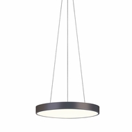 Sonneman 2742.32 Pi Contemporary Black Bronze LED 20  Pendant Lamp