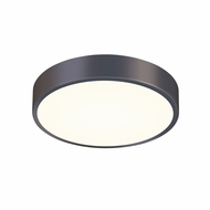 Sonneman 2746.32 Pi Contemporary Black Bronze LED 12  Flush Ceiling Light Fixture