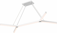 Sonneman 2774.03 bi.Y Contemporary Satin White LED Kitchen Island Lighting