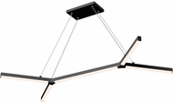 Sonneman 2774.25 bi.Y Modern Satin Black LED Kitchen Island Light