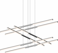 Sonneman 2803.01 Tik-Tak Modern Polished Chrome LED Chandelier Lighting