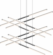 Sonneman 2804.01 Tik-Tak Modern Polished Chrome LED Ceiling Chandelier