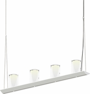 Sonneman 2857.03-LC Votives Contemporary Satin White LED Kitchen Island Light