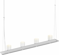 Sonneman 2857.03-SW Votives Modern Satin White LED Island Lighting