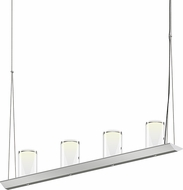 Sonneman 2857.16-LC Votives Modern Bright Satin Aluminum LED Kitchen Island Light