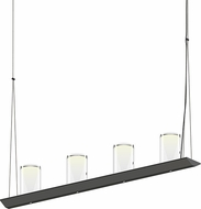 Sonneman 2857.25-LC Votives Contemporary Satin Black LED Kitchen Island Light