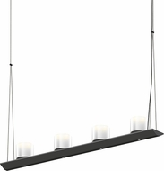 Sonneman 2857.25-LW Votives Modern Satin Black LED Island Light Fixture