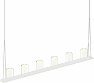 Sonneman 2858.03-LC Votives Modern Satin White LED Kitchen Island Light