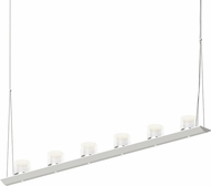 Sonneman 2858.03-LW Votives Contemporary Satin White LED Island Light Fixture