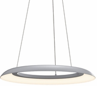 Sonneman 2870.18 Torus Modern Dove Gray LED 24  Pendant Lighting Fixture