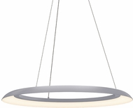 Sonneman 2872.18 Torus Contemporary Dove Gray LED 32  Pendant Hanging Light