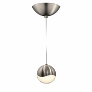 Sonneman 2912.13.MED Grapes Contemporary Satin Nickel LED Medium Mini Drop Lighting