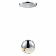 Sonneman 2913.01.LRG Grapes Contemporary Polished Chrome LED Large Mini Ceiling Light Pendant