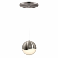 Sonneman 2913.13.LRG Grapes Modern Satin Nickel LED Large Mini Drop Lighting Fixture