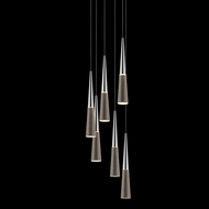 Sonneman 2943.01 Spire Polished Chrome LED Multi Lighting Pendant