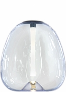 Sonneman 3073.25 Mela Modern Satin Black LED Hanging Pendant Lighting
