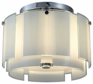Sonneman 318801 Velo Modern Semi.Flush Ceiling Light