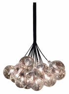 Sonneman 4594.01C Orb Large 26 Inch Diameter 19 Light Cluster Pendant - Clear Glass