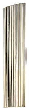 Sonneman 4622.35 Paramount Large Fluorescent 24 Inch Tall Wall Lighting Fixture - Polished Nickel