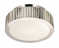 Sonneman 4628.35 Paramount Small 12 Inch Diameter Nickel Flush Mount Ceiling Lighting