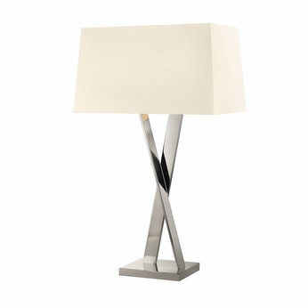 Sonneman 4660.35 X Contemporary Polished Nickel Table Lighting
