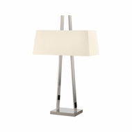 Sonneman 4680.35 A Modern Polished Nickel Table Top Lamp
