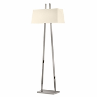 Sonneman 4682.35 A Modern Polished Nickel Floor Lamp