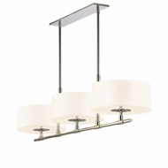 Sonneman 4953.35 Soho Modern Polished Nickel Finish 14.5  Tall Kitchen Island Light