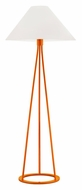 Sonneman 6231.68 Tetra Gloss Orange 51 Inch Tall Modern Floor Standing Lamp