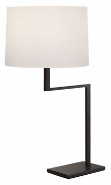 Sonneman 6425.27 Thick Thin Contemporary Coffee Bronze Table Lamp