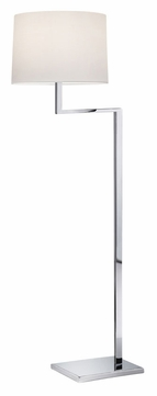Sonneman 6426.01 Thick Thin Polished Chrome 55 Inch Tall Floor Lamp