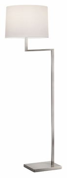 Sonneman 6426.13 Thick Thin Modern 55 Inch Tall Satin Nickel Floor Lamp