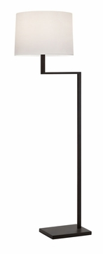 Sonneman 6426.27 Thick Thin 55 Inch Tall Contemporary Floor Lamp - Coffee Bronze