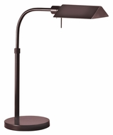Sonneman 7004.3 Tenda Pharmacy Rose Bronze Finish 15 Inch Tall Lighting Table Lamp