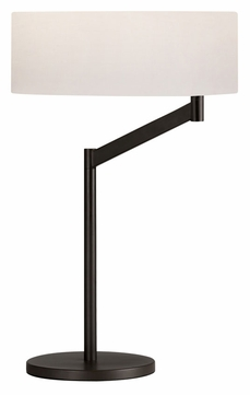 Sonneman 7082.27 Perch Swing Arm Coffee Bronze 23 Inch Tall Table Lamp Light