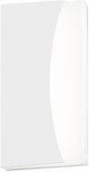 Sonneman 7218.98.WL Nami Contemporary Textured White LED Indoor/Outdoor Wall Light Sconce