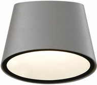 Sonneman 7220.74.WL Elips Contemporary Textured Gray LED Indoor/Outdoor Wall Sconce