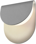 Sonneman 7232.74.WL Cape Contemporary Textured Gray LED Indoor/Outdoor Wall Lamp